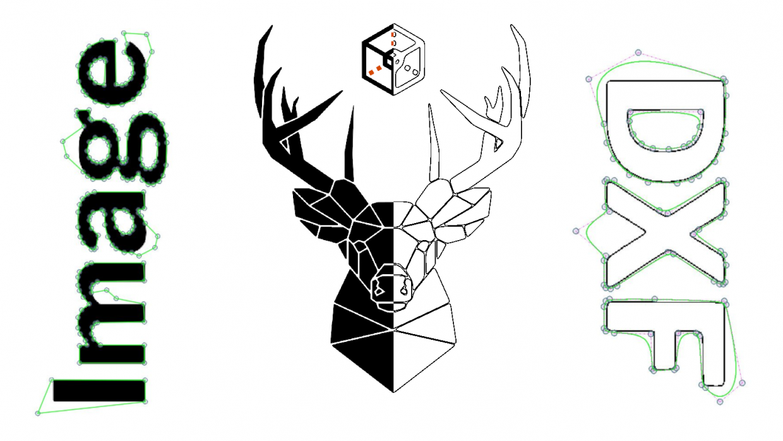 ContourTrace-Image-to-DXF-Lines-Splines